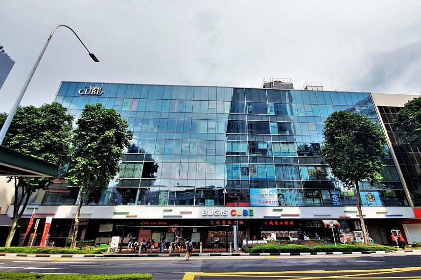 Bugis Cube has 119 strata-titled retail shops, including food and beverage (F&B) outlets, beauty, hair and nail salons, and a family karaoke lounge.