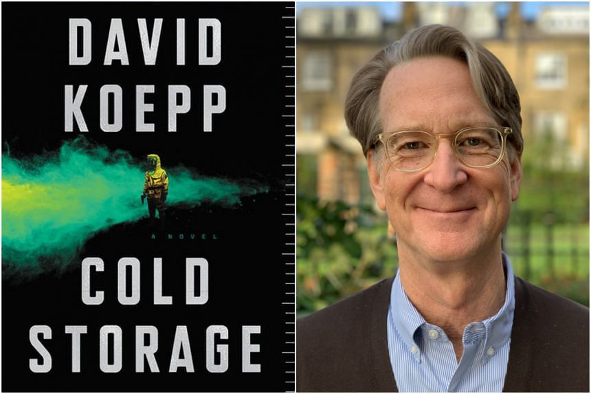 American writer David Koepp's debut novel Cold Storage is a black comedy thriller about a mutant fungus that poses an existential threat to the entire human race.