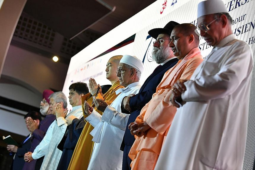 The fact that the 30-year-old Maintenance of Religious Harmony Act has never been invoked, even though the authorities say they have come close to using it on several occasions, is a testimony to Singapore's religious harmony. ST PHOTO: LIM YAOHUI