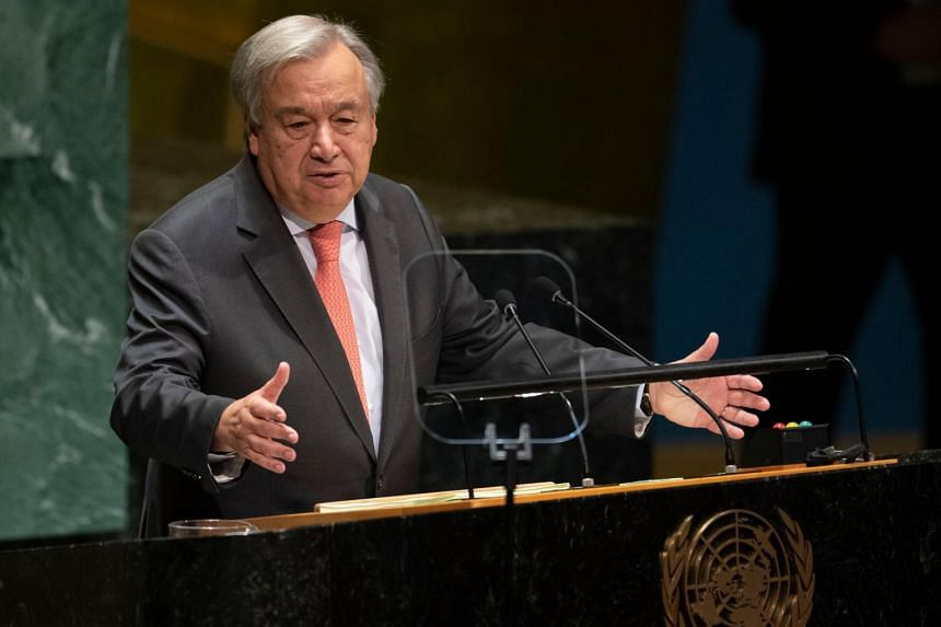 """UN Secretary General Antonio Guterres said unspecified """"additional stop-gap measures"""" would have to be taken to ensure salaries and entitlements are paid."""