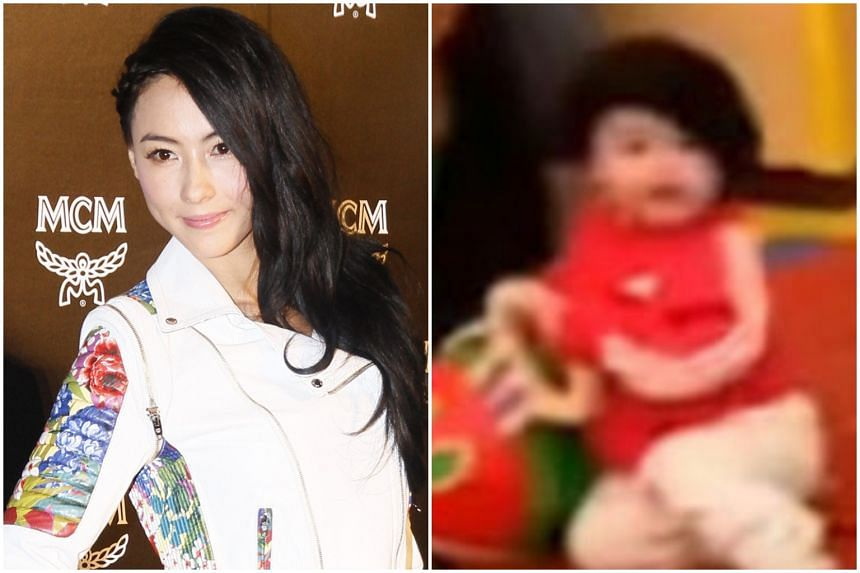 Cecilia Cheung's son Marcus was seen briefly in an Instagram video on Oct 6, 2019.