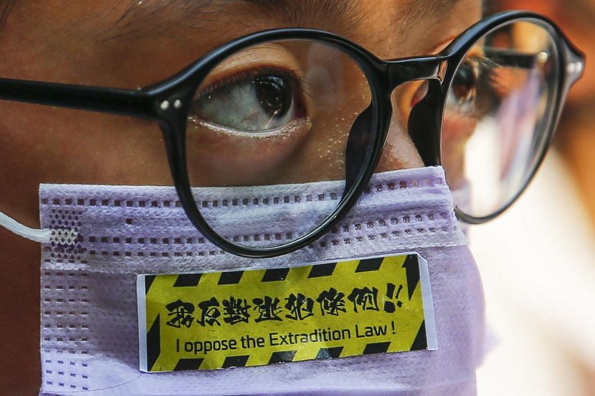 Hong Kong's anti-mask law, which came into effect early Saturday (Oct 5), is applicable in schools and universities.