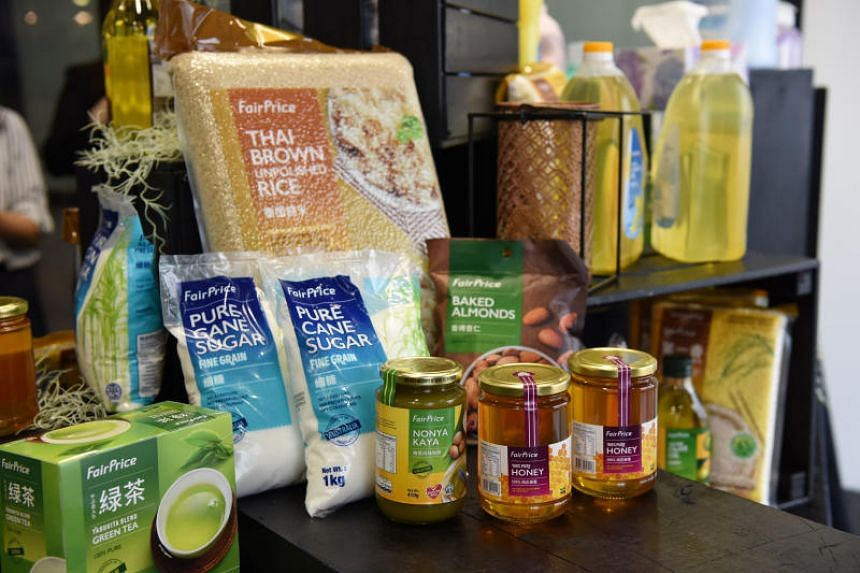 NTUC FairPrice offers more than 2,000 house brand products under different brands and they include FairPrice, Pasar, Harvest Fields, Golden Chef and Life.