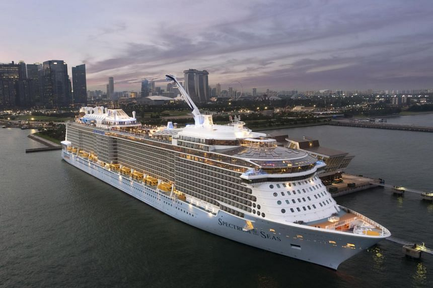 """Salomague Port in Ilocos Sur province, scheduled to open this month, will receive Royal Caribbean Cruises' biggest ship in Asia in December; the """"Spectrum of the Seas"""" will return again in January and February."""