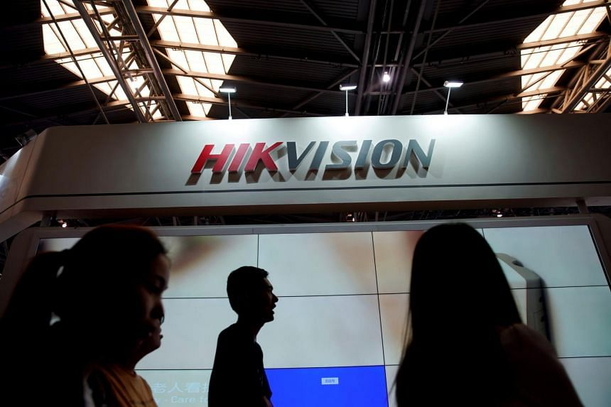 Video surveillance company Hikvision is among companies on the blacklist. It reportedly receives nearly 30 per cent of its 50 billion yuan (S$9.7 billion) in revenue from overseas.