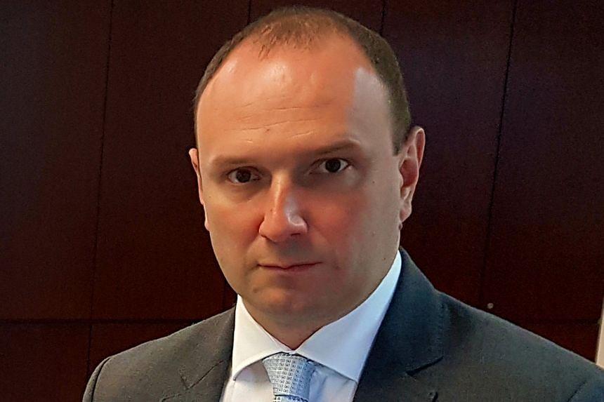 Ukraine's Deputy Minister For Foreign Affairs Yehor Bozhok.