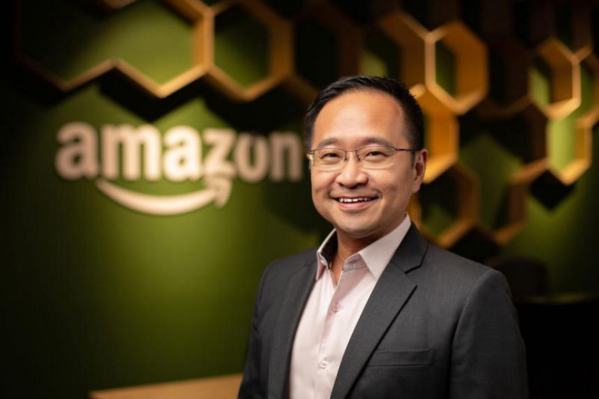 Amazon Singapore country manager Henry Low. Singapore is the first country in South-east Asia to get Amazon.