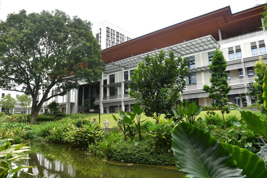 The Yale-NUS College in a photo taken in 2017. The institution cancelled a programme that was to be led by local playwright Alfian Sa'at.