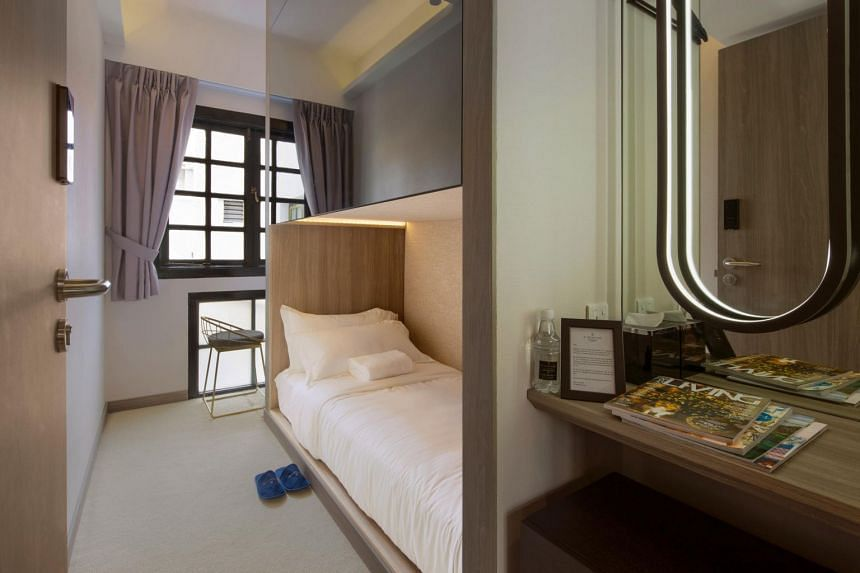 Room rates at the ST Signature Chinatown co-living hotel range from S$60 to S$200 per night. Katrina Group will launch four more of such hotels in Singapore within the next 12 months.