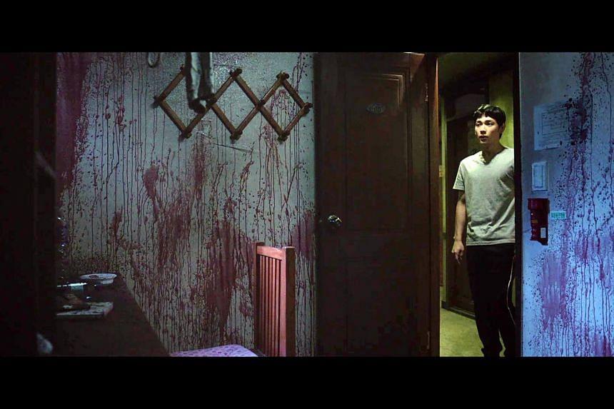Still from K-drama Stranger From Hell.
