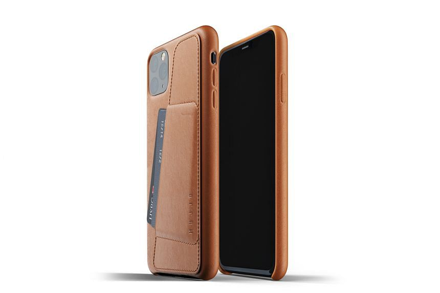 Mujjo Leather Wallet Case for iPhone 11 series