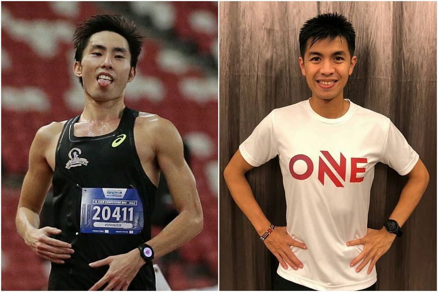 Soh Rui Yong (left) has been embroiled in a dispute with Ashley Liew since October last year.