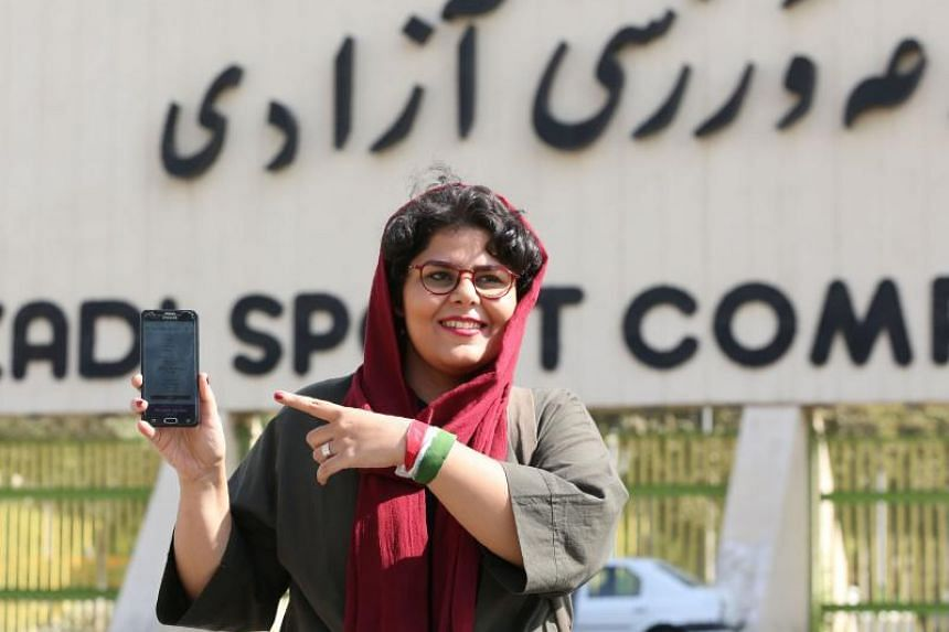 One of the 3,500 women to have secured a ticket was Raha Poorbakhsh, a football journalist.
