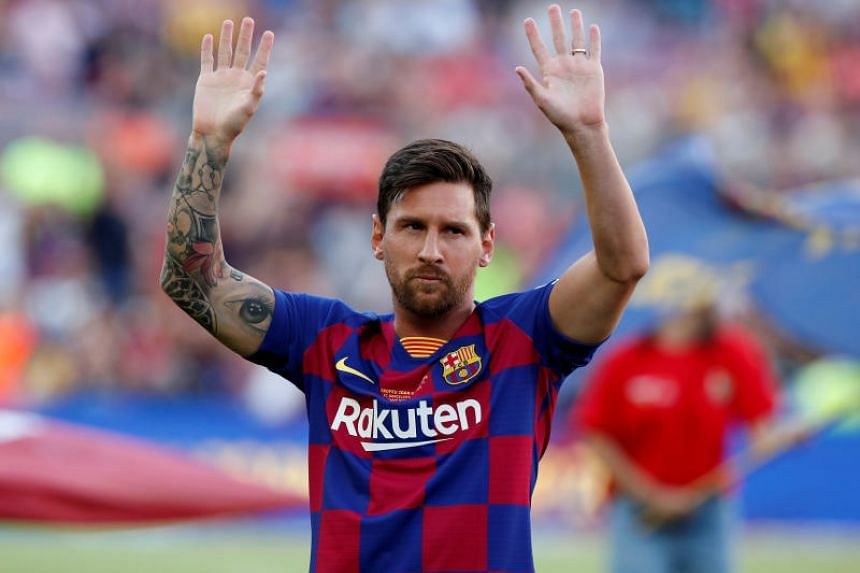 "Lionel Messi's current contract expires in 2021 and Messi believes extending his deal ""will not be a problem""."