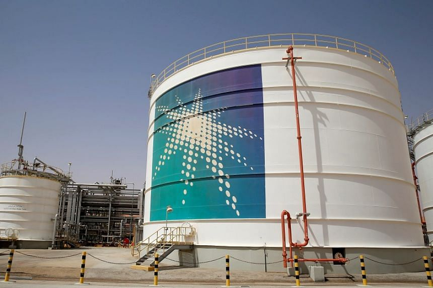An oil tank is seen at a production facility at Saudi Aramco's Shaybah oilfield in Saudi Arabia on May 22, 2018. Temasek's focus on sustainability and environmental, social and governance principles made it more difficult to support Aramco's share sa