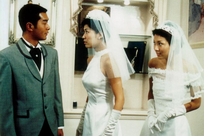 Louis Koo (left) and Jessia Hsuan (centre) in Man's Best Friend. They are close friends who have known each other for more than 25 years.