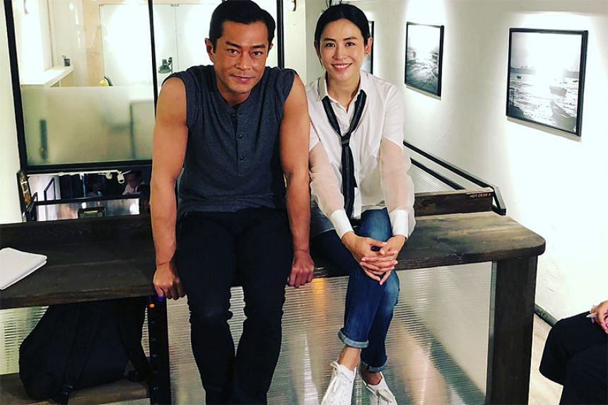Netizens began to speculate who Louis Koo's fiancee might be after the video went viral, with many identifying actress Jessica Hsuan as the most likely suspect.