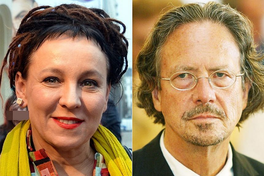 Olga Tokarczuk and Peter Handke received the Nobel Prize in Literature for 2018 and 2019, respectively.