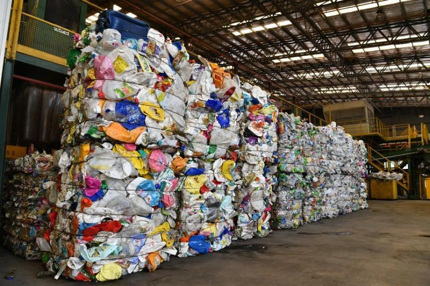 The small proportion of plastics processed locally worries experts because there is currently an oversupply of such plastics.
