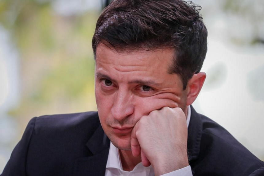 Ukraine's President Volodymyr Zelenskiy said the country should investigate whether there was any meddling by the previous authorities in the 2016 US elections.