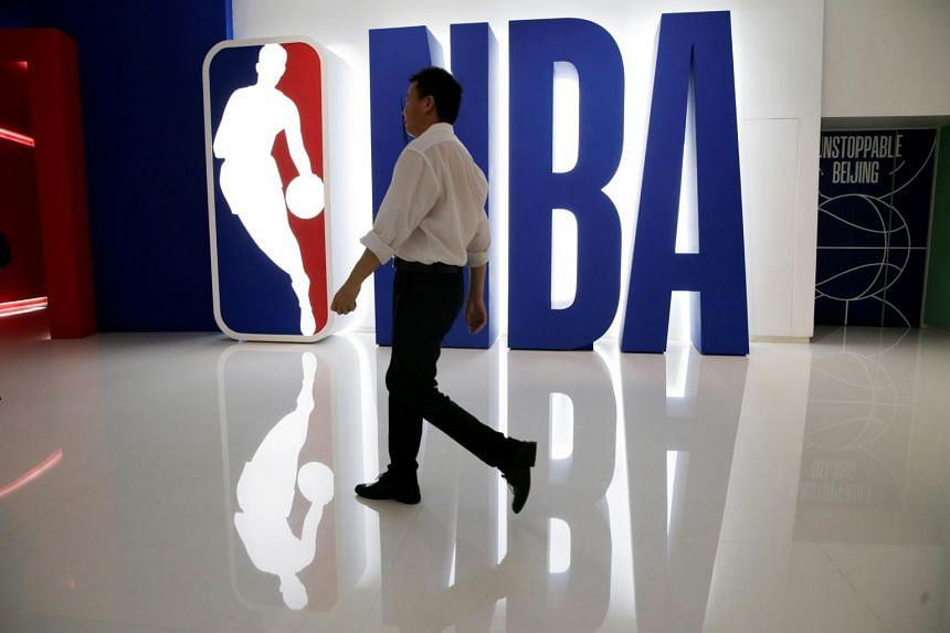 China has suspend television broadcasts of games in the country, and many of its companies have cut advertising ties with the NBA.