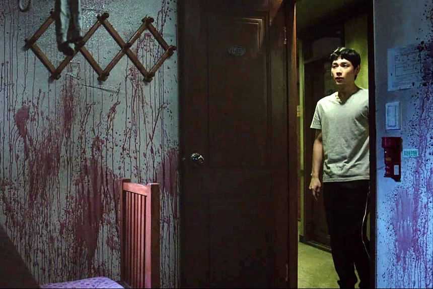 In Stranger From Hell, Im Si-wan (above) plays Yoon Jong-woo, a young man starting out in life, with things taking a dark turn.