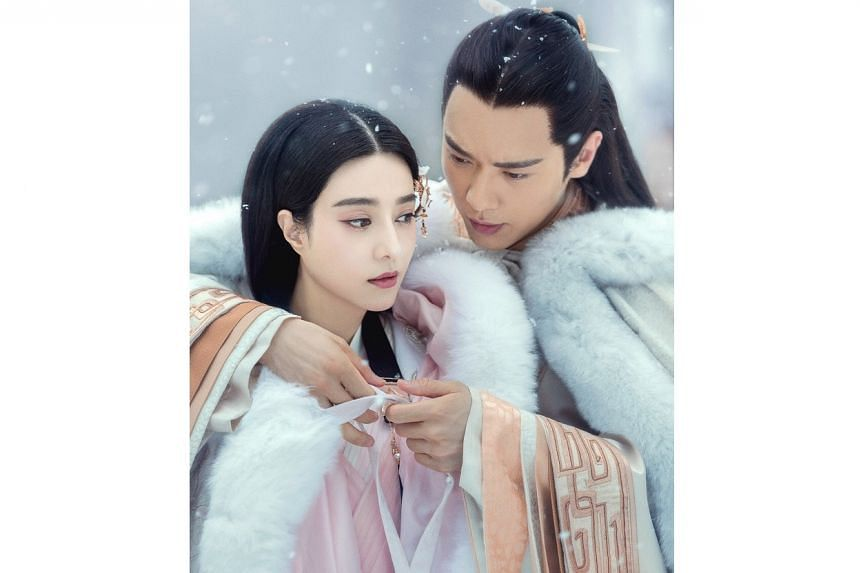 Legend Of Ba Qing, which stars Fan Bingbing and Gavin Gao (both above), is due for a reshoot.