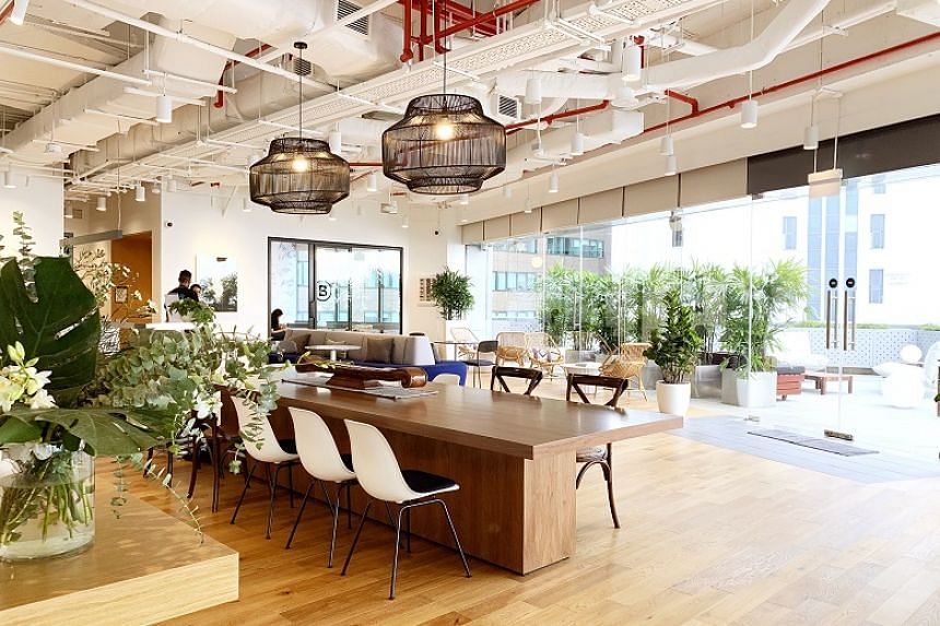 WeWork's latest addition is located at MYP Centre Building in Battery Road in the heart of the CBD.