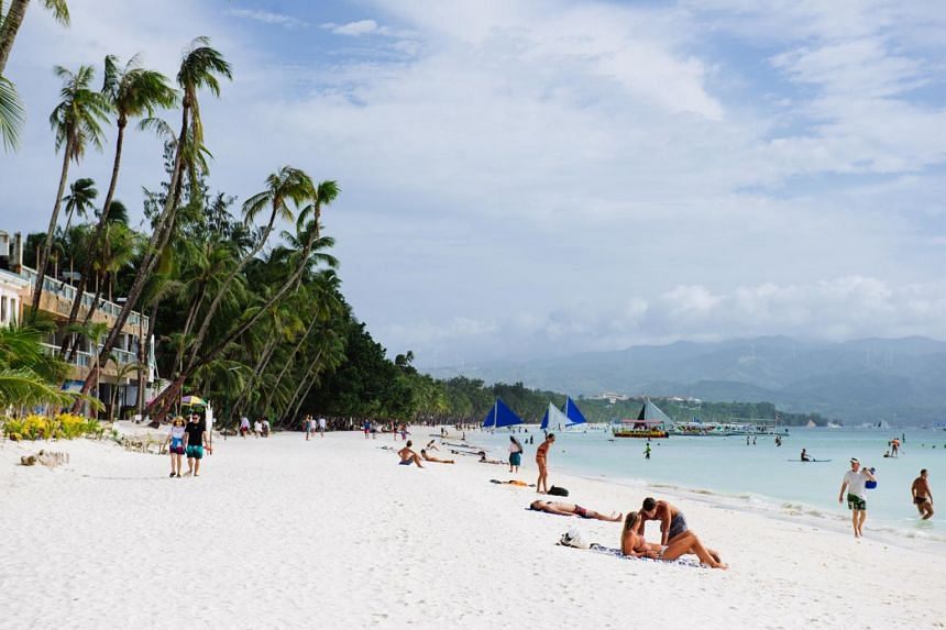 Topless sunbathing, mostly by foreign tourists, was tolerated in Boracay when there were still few tourists and residents on the island - until the early 1990s.