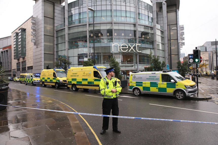 The stabbings took place at the Arndale shopping centre in the heart of Manchester city.
