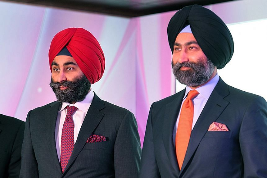 Tycoon brothers Shivinder (left) and Malvinder Singh are in court over US$337 million (S$463.26 million) diverted from the Religare financial group which they built up.
