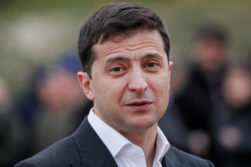 Ukrainian President Volodymyr Zelensky told reporters that US President Donald Trump did not seek to blackmail him during a phone call in July or a meeting in September.