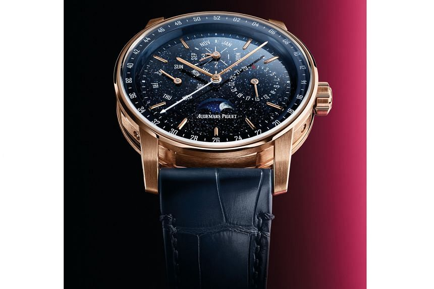 The Perpetual Calendar watch from the Code 11.59 collection from Audemars Piguet.