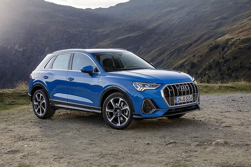 Audi Q3 and A6 2.0TFSI available here.