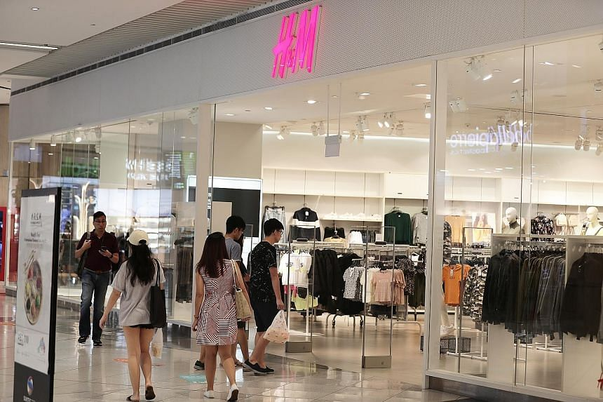 Apparel and footwear were among the consumer items that helped to cushion the overall retail-sales decline in August. They lifted takings by 4.9 per cent compared with August last year, while other bright spots like fast-food outlets saw revenue at 1
