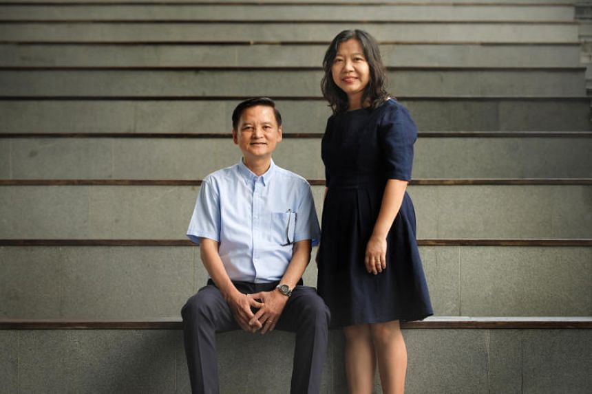 Mr Kelvin Quak, pictured with his wife Khoo Lay Hwa, said his life now is a far cry from that of his early days when he used to be a gang member.