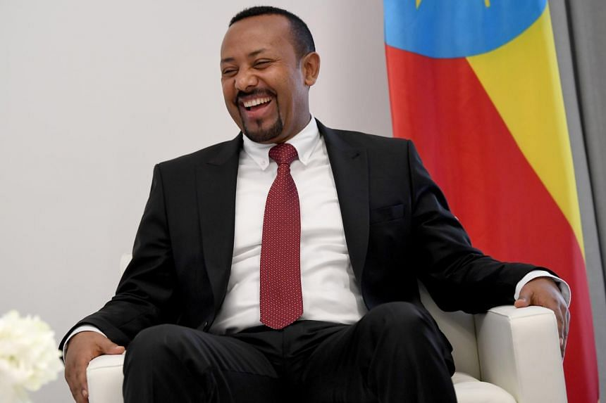 """Ethiopian Prime Minister Abiy Ahmed Ali. Ali wins the 2019 Nobel Peace Prize for """"for his decisive initiative to resolve the border conflict with neighbouring Eritrea,"""" the Norwegian Nobel Committee said on Friday."""