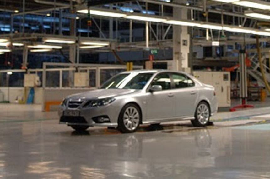Last Saab to go under the hammer.