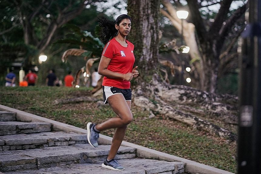 Shalini Kana will be adding the 21km race in the Great Eastern Women's Run on Nov 3 to her resume, which includes more than 25 marathons.