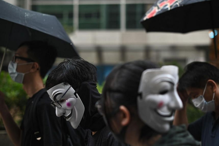 Prohibiting people from using face covering would facilitate police investigation and administration of justice and deter people from acting in an unlawful manner, said Secretary for Justice Teresa Cheng.