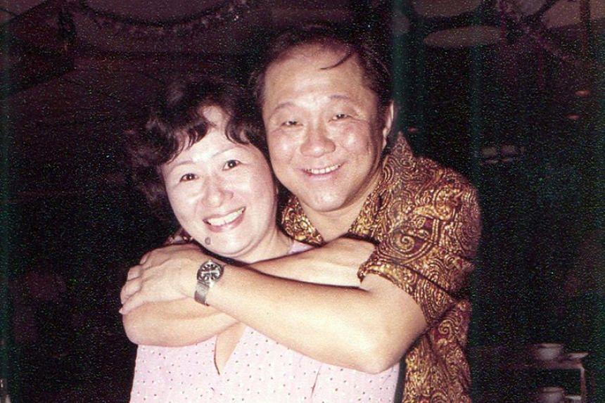 Mr Wee Toon Ouut and his wife, Madam Sim Suy Gek.