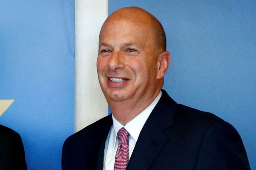US ambassador to the EU Gordon Sondland (pictured) will hold out the possibility that US President Donald Trump was not truthful in his denial of a quid pro quo.