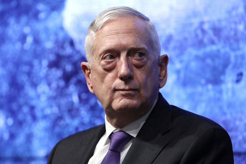 """If we don't keep the pressure on, then ISIS will resurge,"" said former US secretary of defence James Mattis."