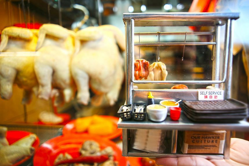 Experts say pre-cooked food, such as chicken and roasted meat, carries much less microbial contamination than raw food like sushi. Proper food handling right from the start, and keeping food behind barriers to prevent contamination from food handlers