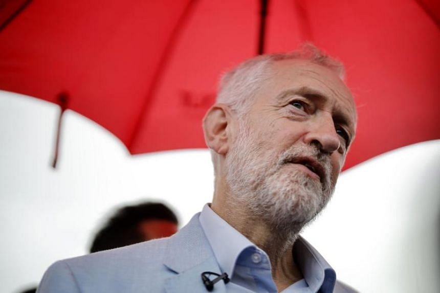 Britain's Labour Party leader Jeremy Corbyn said there was a strong possibility of a national election before Christmas.