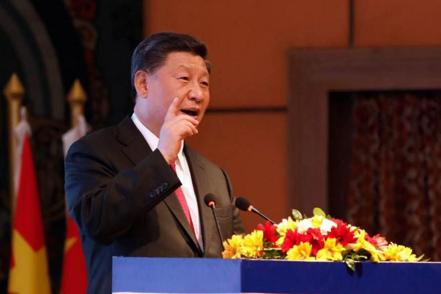 Chinese President Xi Jinping said any external force backing the split of China will be considered as delusional by Chinese people.