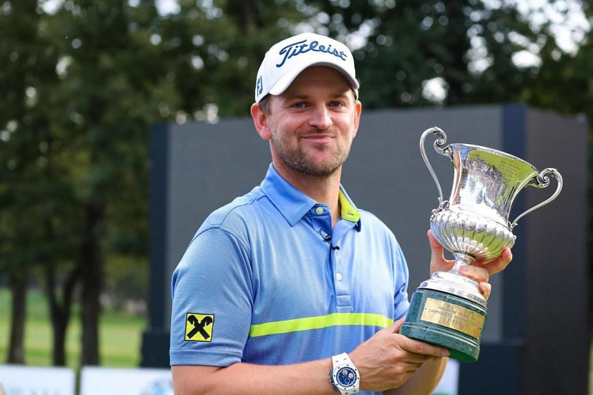 Austrian Bernd Wiesberger carded six-under-par 65 in the final round at the Olgiata Club for a 16-under total to overturn a three-shot deficit and beat overnight leader Matthew Fitzpatrick by one stroke.