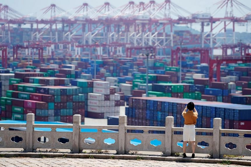 China's exports decreased 0.7 per cent in yuan terms from a year earlier, while imports declined 6.2 per cent.