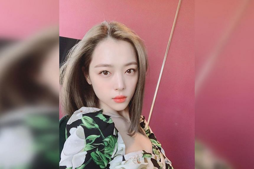K-pop singer and actress Sulli, formerly of girl group f(x), was found dead at a house in Seongnam, Gyeonggi province, on Monday (Oct 14). Her cause of death is as yet unknown.