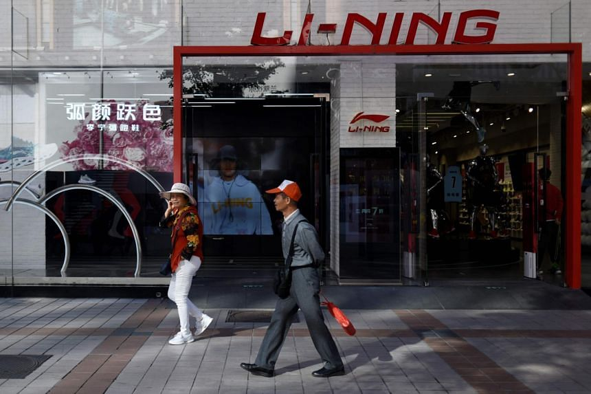 Li Ning is benefiting from the growing popularity of sports fashion in China, according to Morgan Stanley.